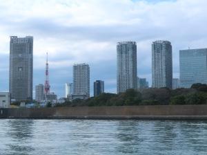 Hamarikyu garden from Shumida river