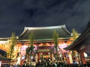 Main building of Sensoji
