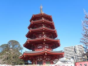Five-storied pagoda