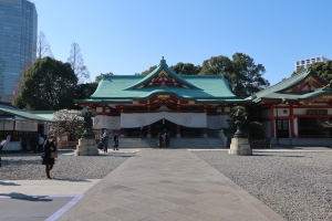Main building of Shrine