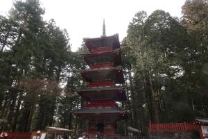 Tousyouji Temple Five stories pagoda