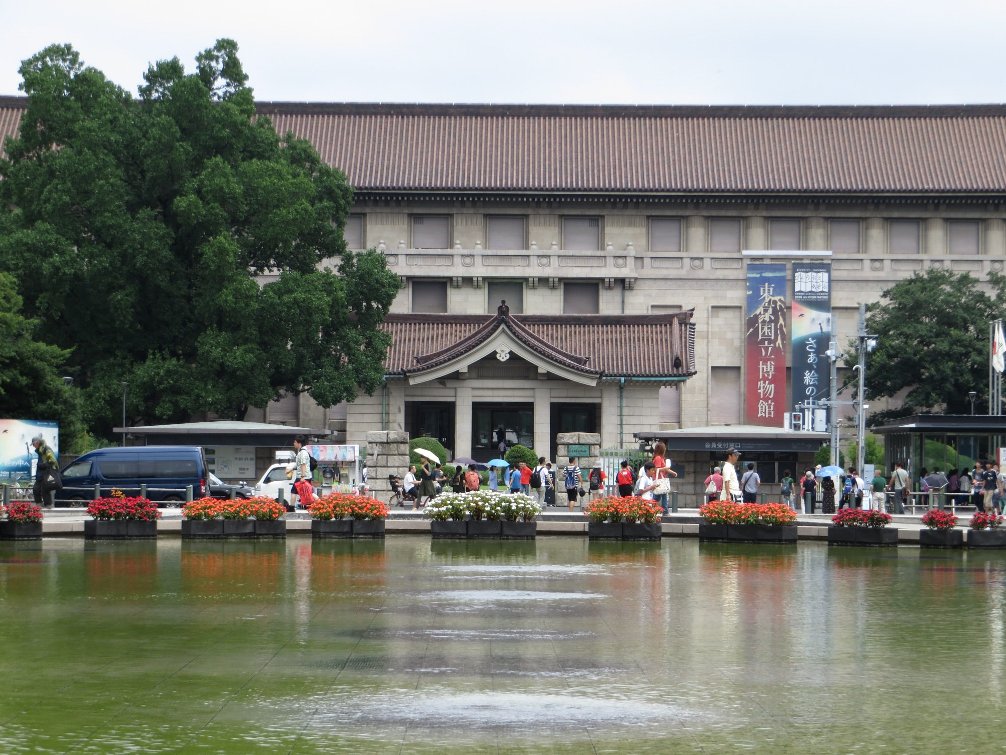 Main building of the museum