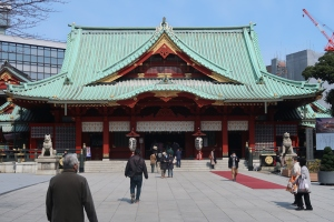 Main building of Kanda Myojin shrine