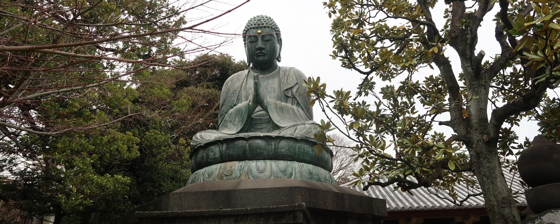 Statue of Great Buddha, Amithaba Buddha