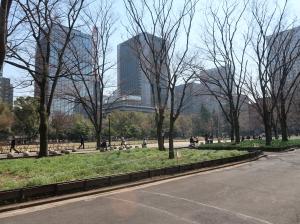 Hibiya park,