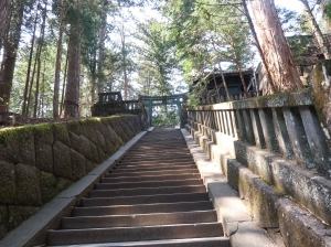 Steps to Okumiya (Inner Shrine)