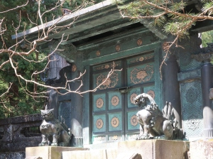 Inukimon Gate of Okumiya (Inner shrine)