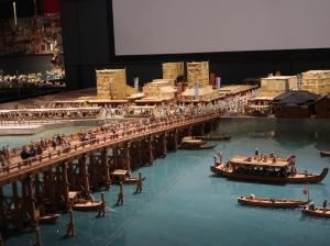 West of Ryogoku bridge (1/30 scale model)