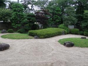 Japanese rock garden, Main buildings of Kawagoe castle