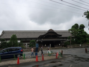 Main buildings of Kawagoe castle