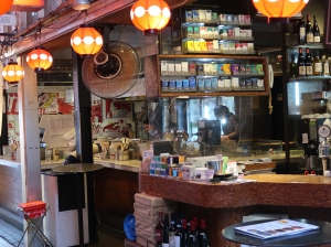 Yakitori restaurants in back streets
