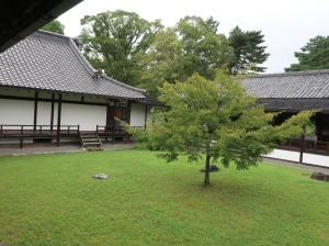 Middle court of Kan'in-no-miya residence.