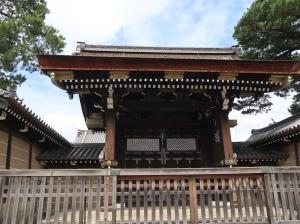 正門である建礼門 Kenreimon gate main gate of the Imperial palace