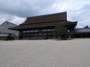 紫宸殿 Shishinden, hall for state ceremonies