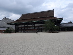 紫宸殿 Shishinden, hall for state ceremonies