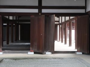 清涼殿への通路 Corridor to Seiryoden