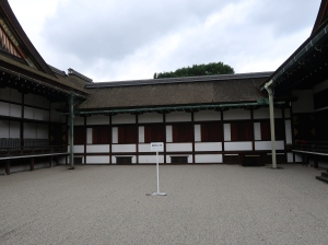 蹴鞠の庭 Court yard for Kemari, ancient football game of the Imperial Court