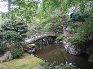御池庭 欅橋 Keyagibashi bridge Oikeniwa garden