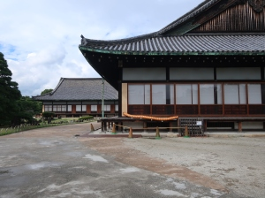 大広間外観 Outside view of Oohiroma